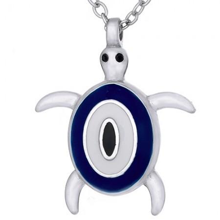 Naszyjnik srebrny oko...