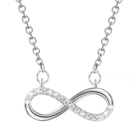 Sterling silver infinity...